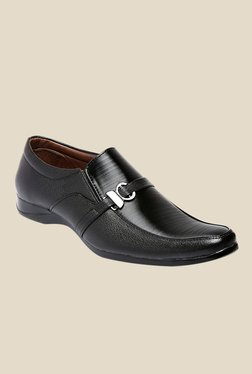 Juan David Black Formal Slip-Ons
