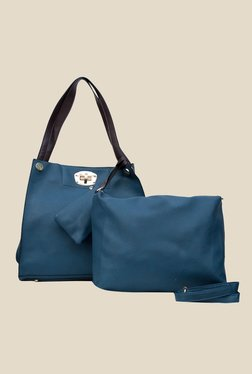 Joker & Witch Blue Tote with Sling Bag and Pouch