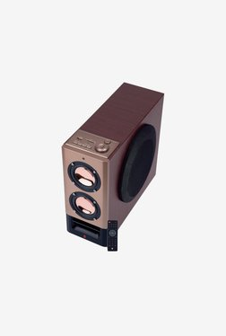 iball Tarang Mini Tower Bluetooth Speaker (Brown)