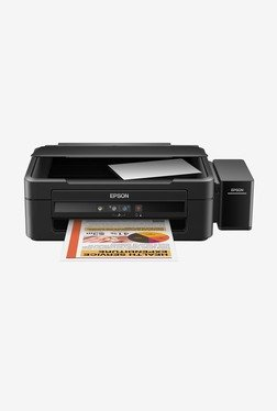 Epson L220 Color Ink Tank System Printer (Black)