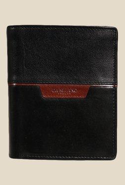 Da Milano Black Leather Wallet - Mp000000000696902