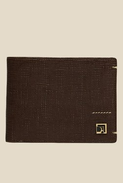 Da Milano Brown Textured Leather Wallet - Mp000000000696957