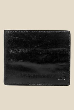 Da Milano Black Leather Wallet
