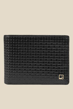 Da Milano Black Textured Leather Wallet - Mp000000000696975