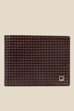 Da Milano Brown Textured Leather Wallet - Mp000000000696978