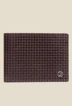 Da Milano Brown Textured Leather Wallet - Mp000000000697007