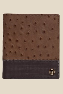 Da Milano Brown Textured Leather Wallet - Mp000000000697087
