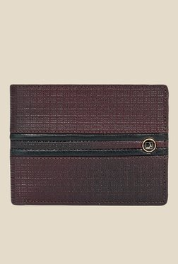 Da Milano Brown Textured Leather Wallet - Mp000000000697210