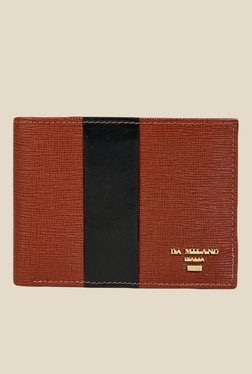 Da Milano Brown Textured Leather Wallet - Mp000000000697269