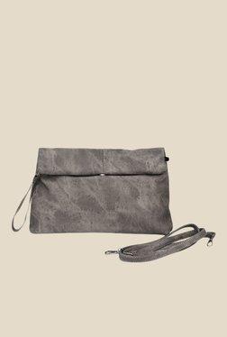 Joker & Witch Grey Paper Bag Denim Sling Bag