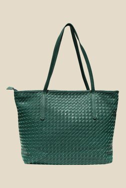 Joker & Witch Green Textured Tote Bag
