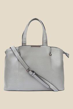 Joker & Witch Grey Double Strap Shoulder Bag