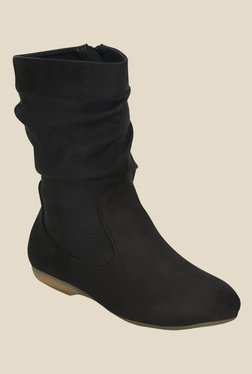 Get Glamr Black Casual Booties - Mp000000000699622