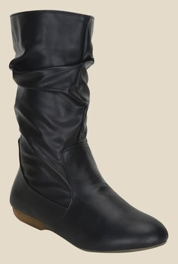 Get Glamr Black Casual Booties - Mp000000000700575