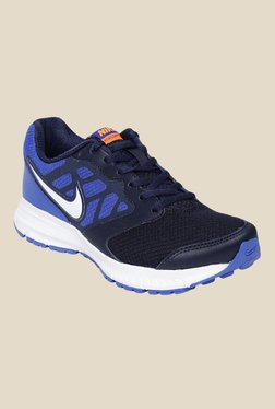 Nike Downshifter 6 MSL Navy Blue Running Shoes