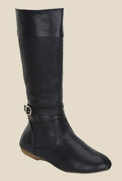 Get Glamr Black Casual Booties - Mp000000000700890