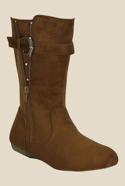 Get Glamr Brown Casual Booties - Mp000000000701021