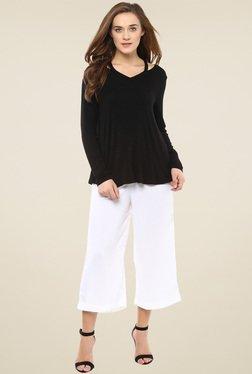Femella Black Full Sleeve Top