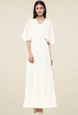 Femella Off-White Maxi Dress