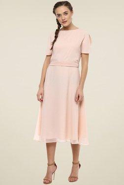 Femella Beige Midi Dress