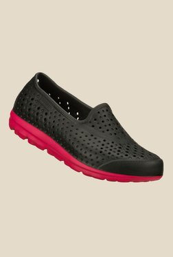 Skechers H2GO Black Rain Shoes