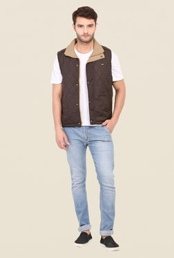 Duke Stardust Brown Quilted Jacket - Mp000000000703967