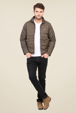 Duke Stardust Brown Quilted Jacket