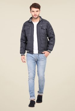 Duke Stardust Navy Quilted Jacket - Mp000000000704077