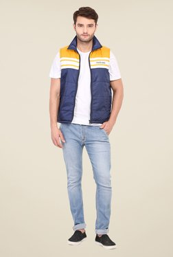 Duke Stardust Navy Quilted Jacket - Mp000000000704084