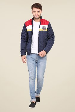 Duke Stardust Navy Quilted Jacket - Mp000000000704250