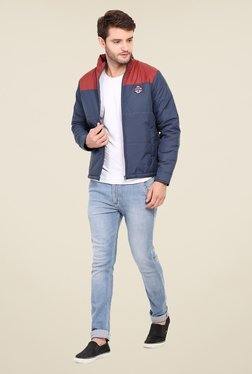 Duke Stardust Navy Quilted Jacket