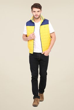 Duke Stardust Yellow Quilted Jacket
