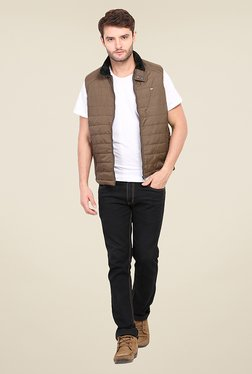 Duke Stardust Brown Quilted Jacket - Mp000000000718189