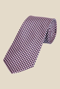 Park Avenue Blue And Red Plaid Tie