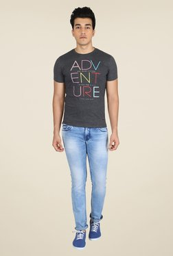 Easies Anthra Graphic Print T Shirt
