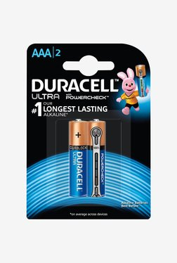 Duracell 2x AAA Ultra Alkaline Coppertop Battery (Black)