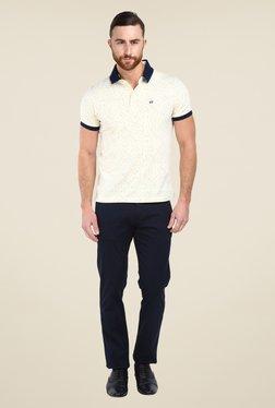Arrow Sport Navy Solid Trouser