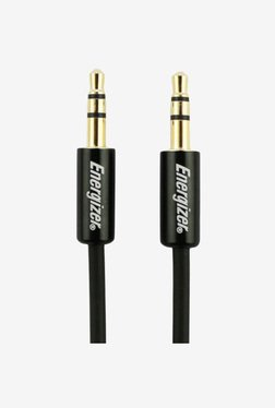 Energizer 3.5mm-3.5mm Audio Cable (Metal Black)