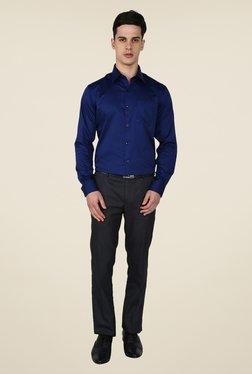Arrow Navy Solid Shirt