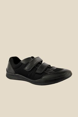 FeetScience Ace Black Casual Shoes