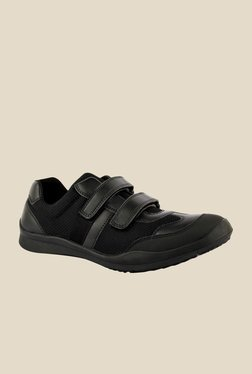 FeetScience Champion Black Casual Shoes