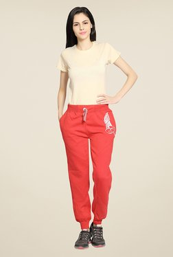 Sweet Dreams Red Solid Joggers