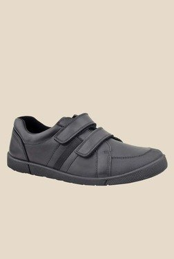 FeetScience Turbo Black School Shoes
