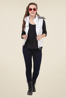 Duke Stardust White Quilted Jacket