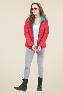 Duke Stardust Red Quilted Reversible Jacket
