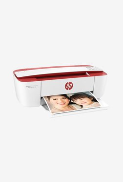HP Advantage 3777 DeskJet Ink AIO Printer (White/Red)
