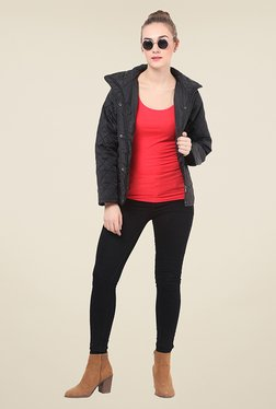 Duke Stardust Black Quilted Jacket