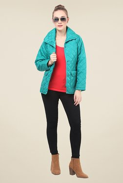 Duke Stardust Turquoise Quilted Jacket