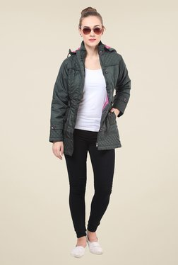 Duke Stardust Green Quilted Jacket
