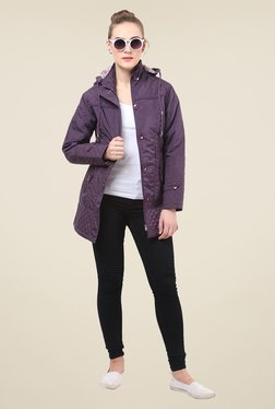 Duke Stardust Purple Quilted Jacket